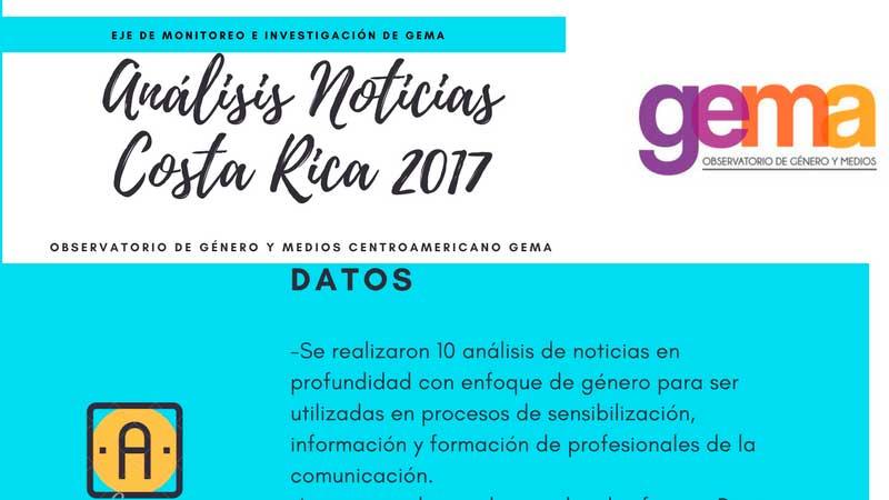 Análisis Noticias Costa Rica 2017